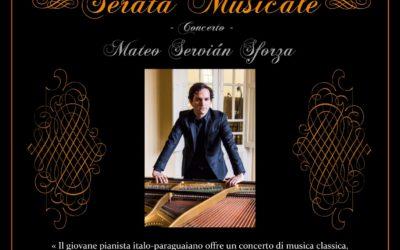 Concierto de piano de Mateo Servián Sforza
