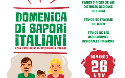 Domenica di Sapori Italiani – Feria familiar de la Gastronomía Italiana